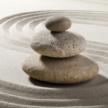 Zensteine aufeinander Das weibliche Becken und seine Gesundheit